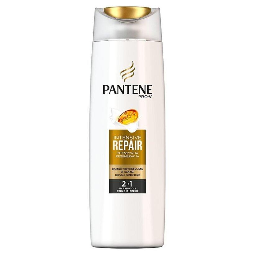 Pantene Pro-V Intensive Repair Šampón ABalzam 2v1 Na Oslabené A Poškodené Vlasy  400 Ml