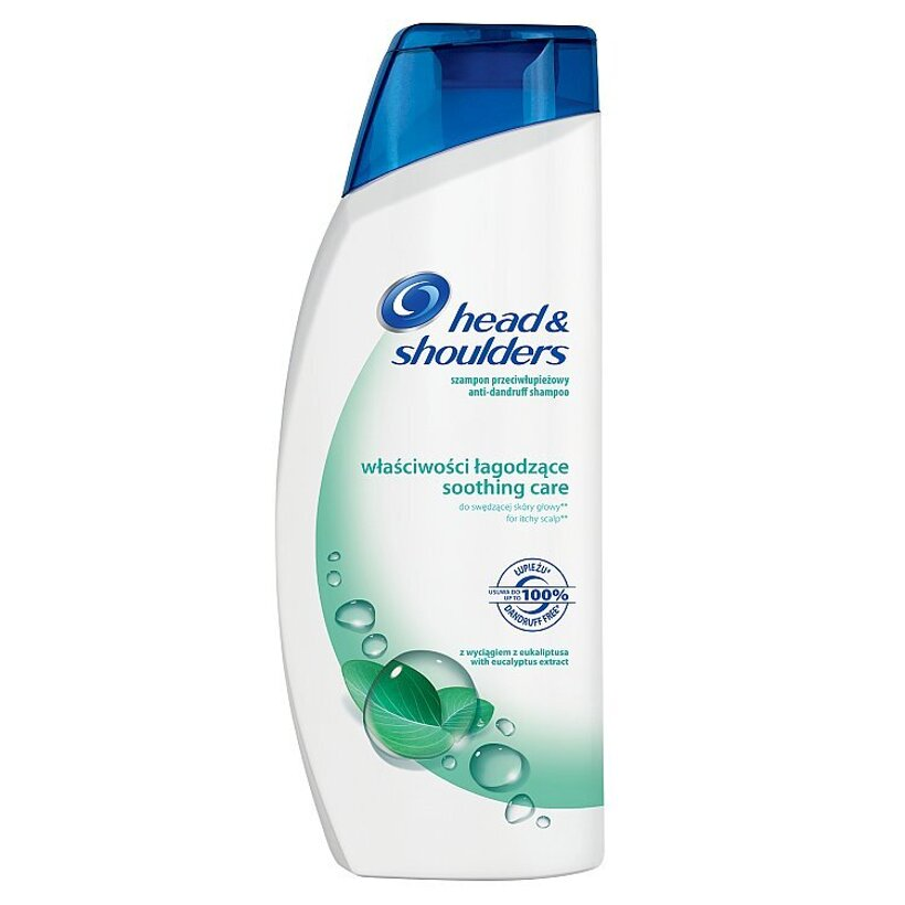 Head & Shoulders Soothing Care Šampón Proti Lupinám 540 ml
