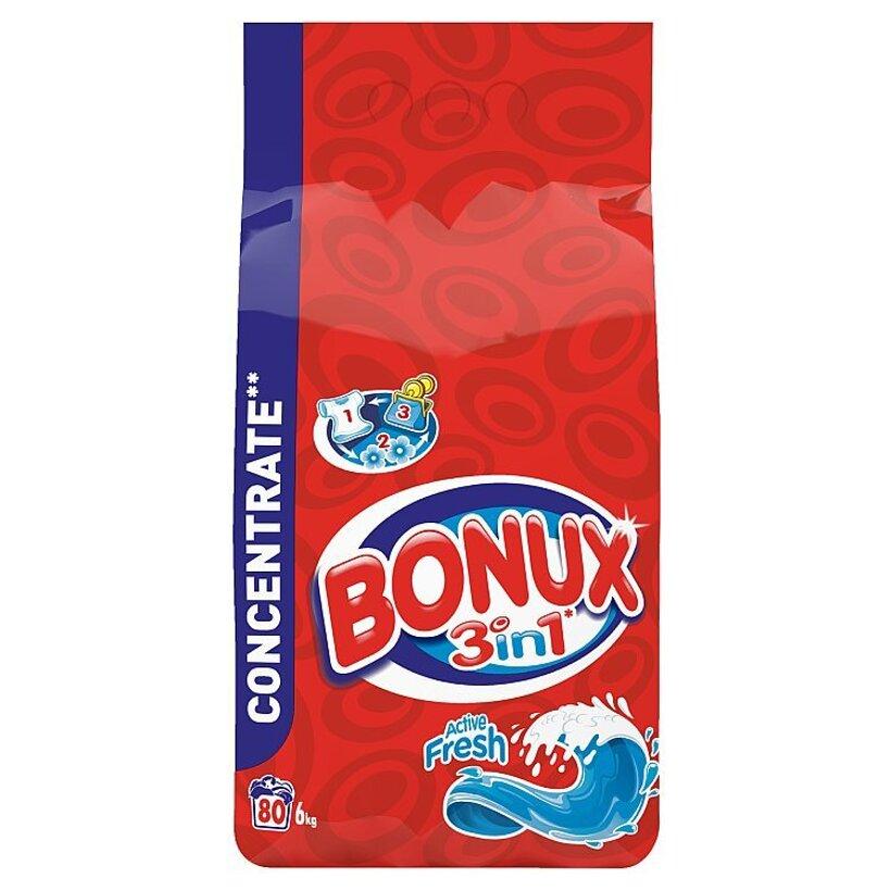Bonux Active Fresh Prací Prášok 6 kg