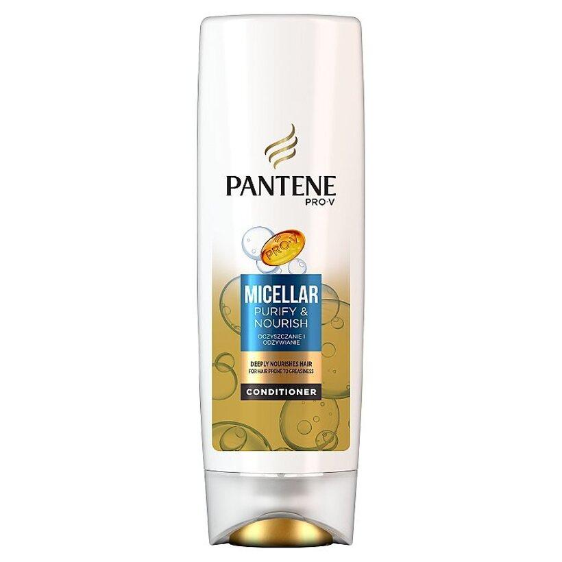 Pantene Micellar Purify & Nourish Balzam Na Vlasy 360 ml