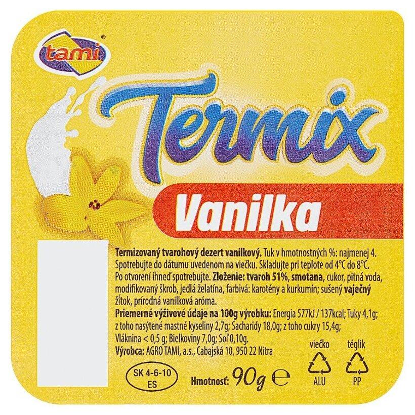 Tami Termix vanilka 90 g