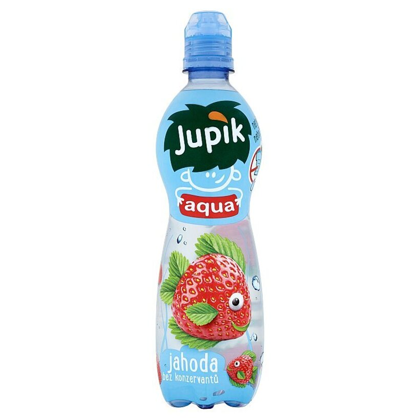 Jupík Aqua Jahoda 500 ml