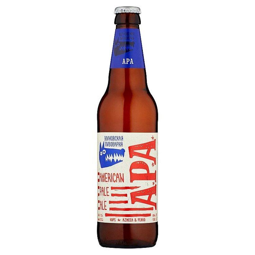 Pivo Volkovskaja pivovarnia American Pale Ale 0,45 l