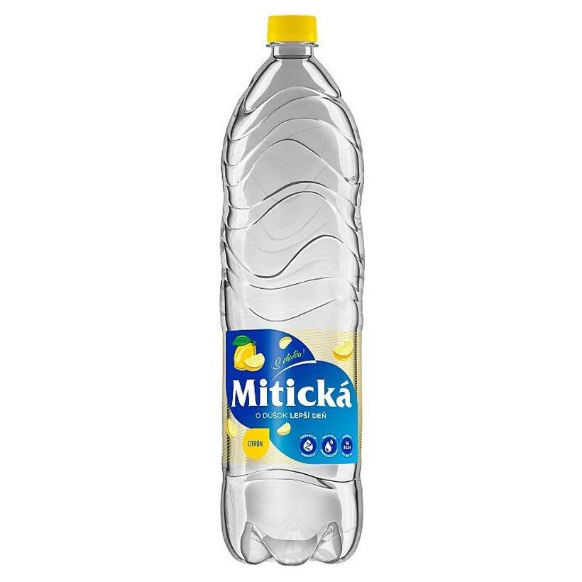 Mitická Citrón sýtený nealkoholický nápoj 1,5 l