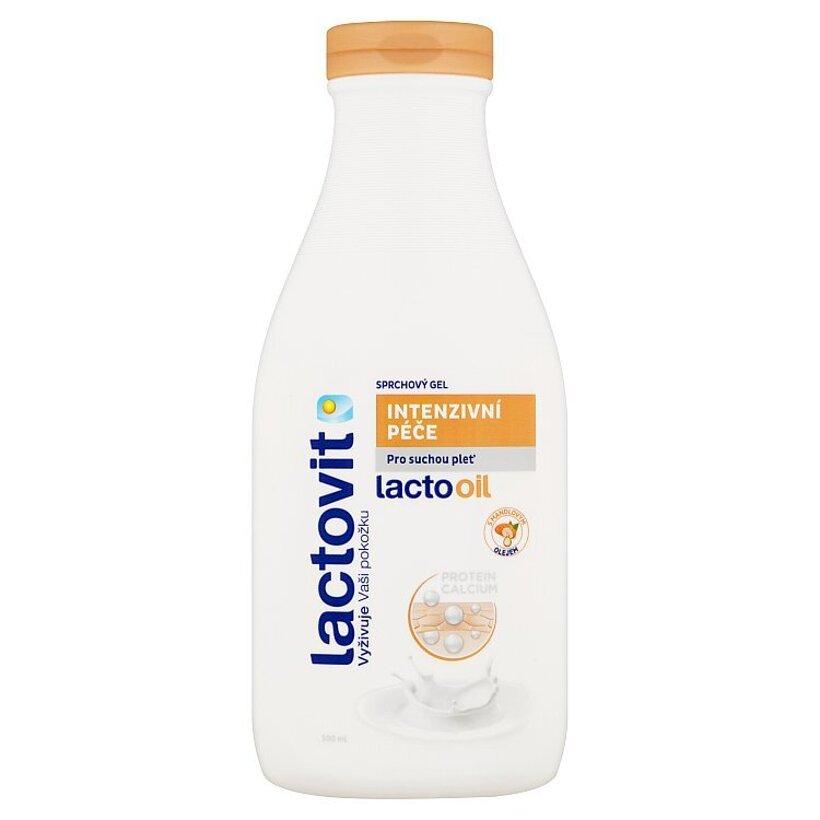 Lactovit Lactooil intenzívna starostlivosť sprchový gél 500 ml