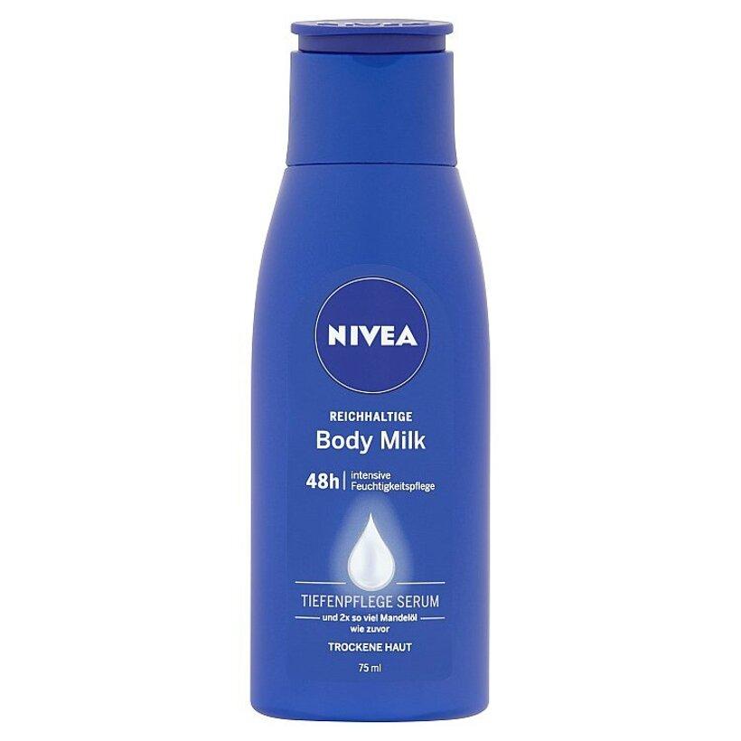 Nivea Body Milk Výživné telové mlieko 75 ml