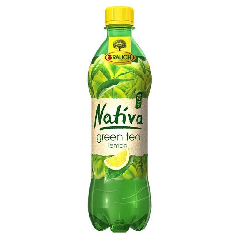 Rauch Nativa Zelený čaj citrón 0,5 l