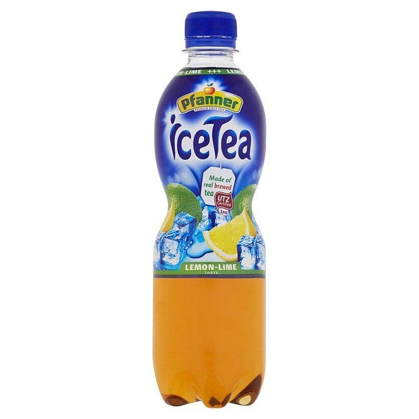 Pfanner Čajový nápoj s citrónovo-limetovou príchuťou 0,5 l