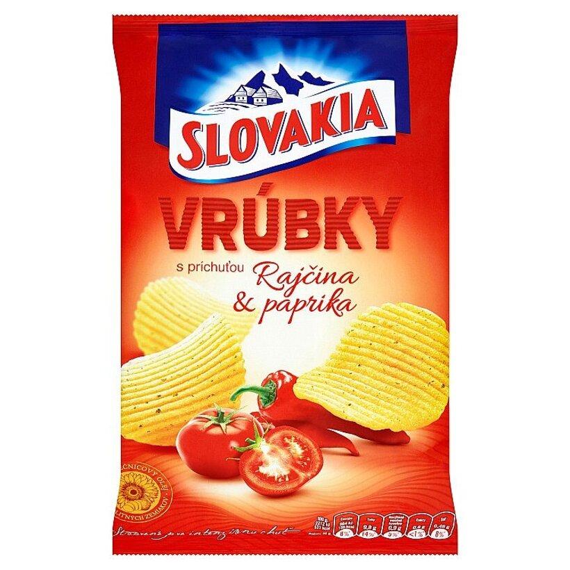 Slovakia Vrúbky s príchuťou rajčina & paprika 130 g