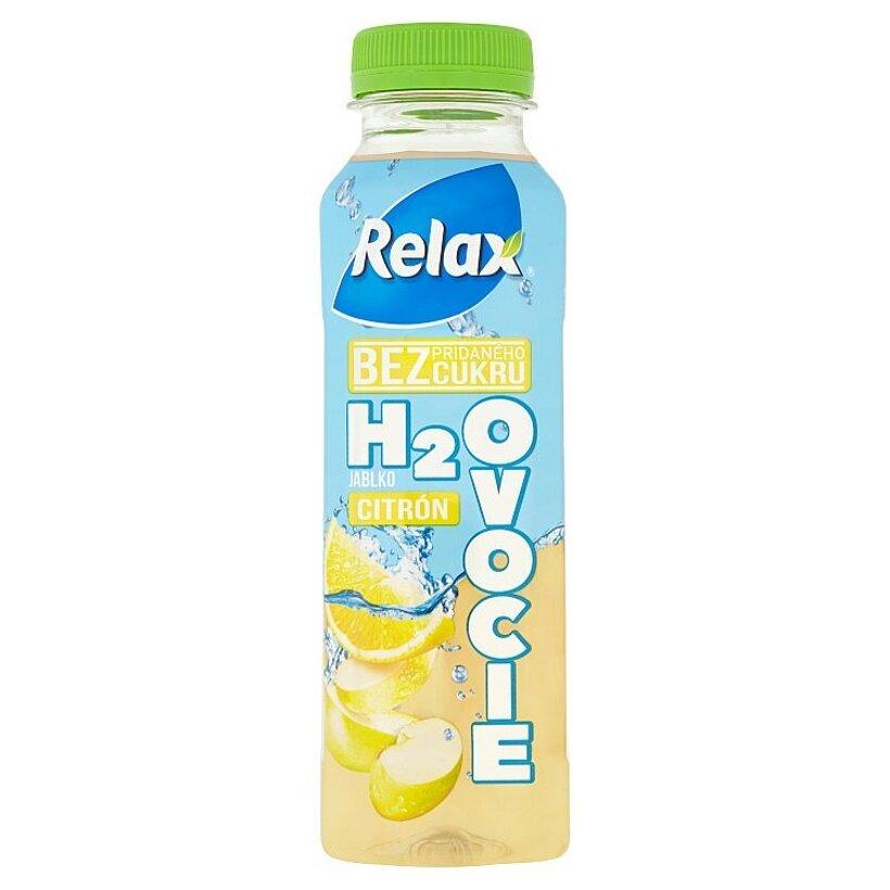 Relax H2Ovocie Jablko, CITRÓN 400 ml