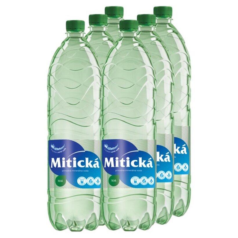Mitická Prírodná minerálna voda tichá  6 x 1,5 l