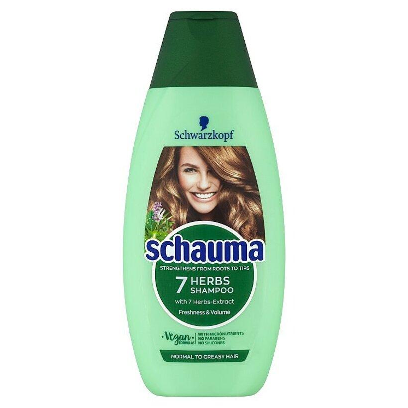 Schauma šampón 7 Bylín 400 ml