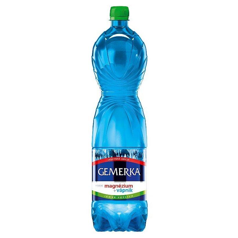 Gemerka Magnézium + vápnik prírodná minerálna voda jemne perlivá 1,5 l