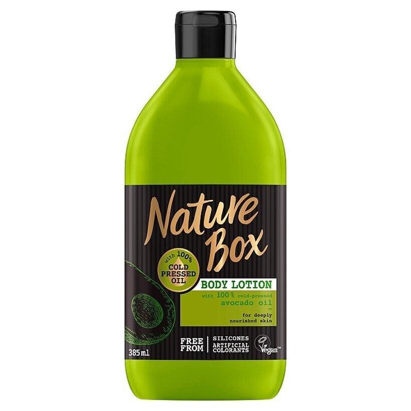 Nature Box telové mlieko Avocado Oil 385 ml