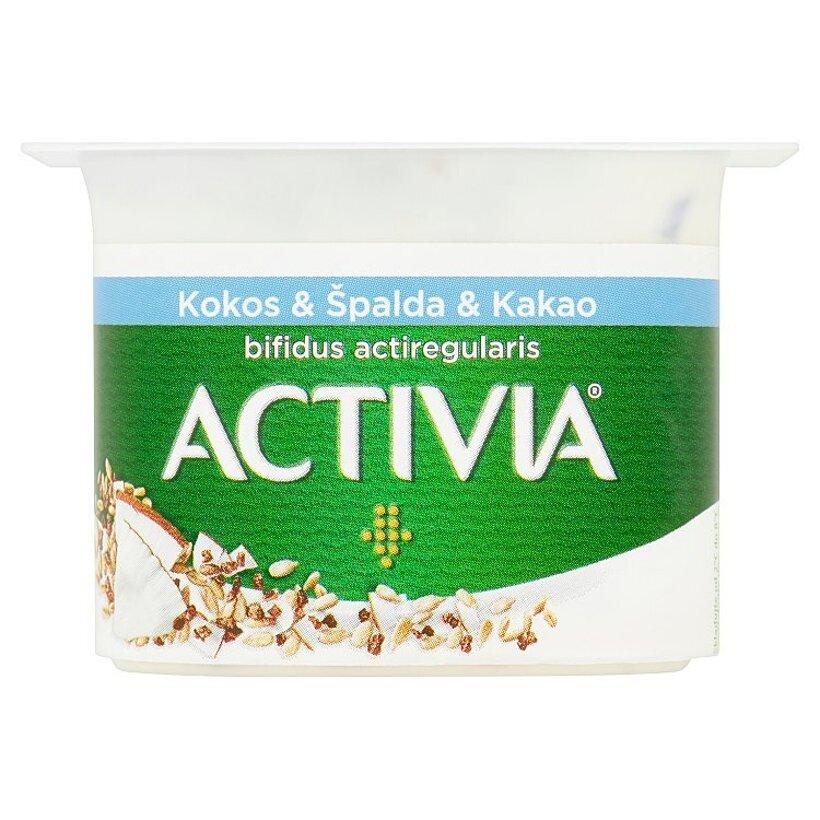 Danone Activia Jogurt kokos & špalda & kakao 120 g