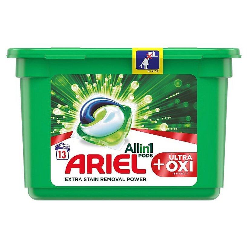 Ariel All In 1 Pods +OXI Effect Gélové Kapsuly Na Pranie 13 Praní