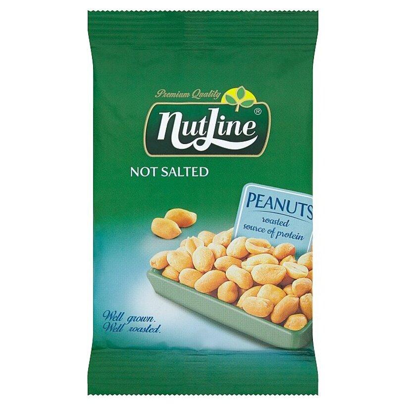 Nutline Pražené lúpané arašidy nesolené 100 g