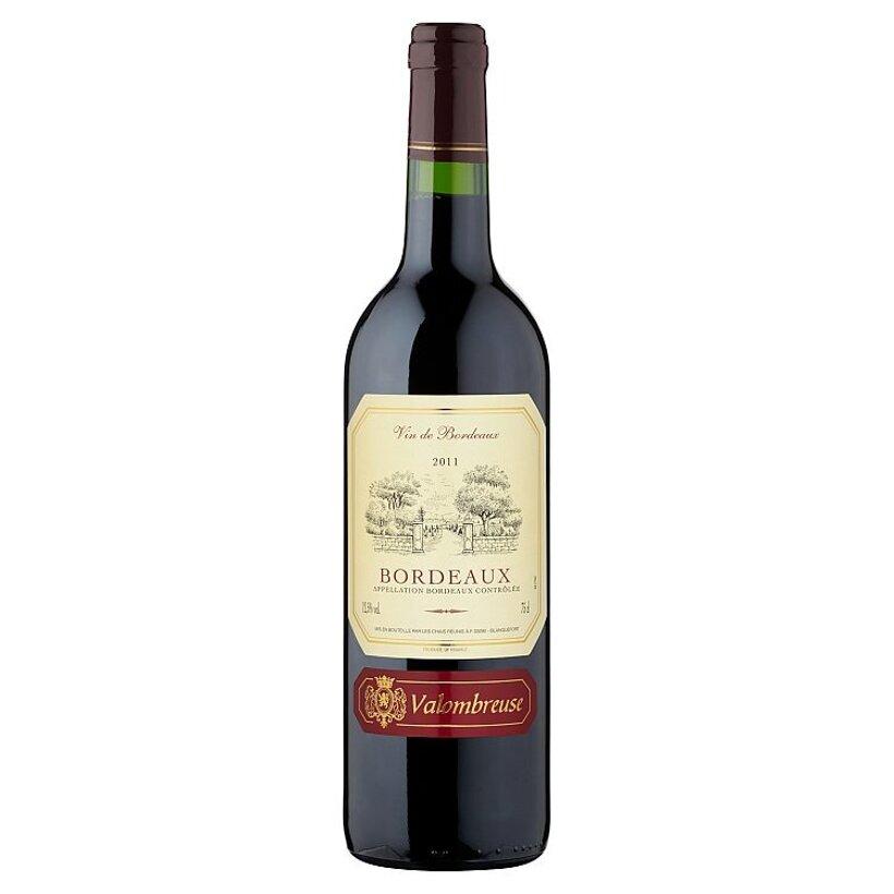 Valombreuse Bordeaux Rouge francúzske červené víno 0,75 l