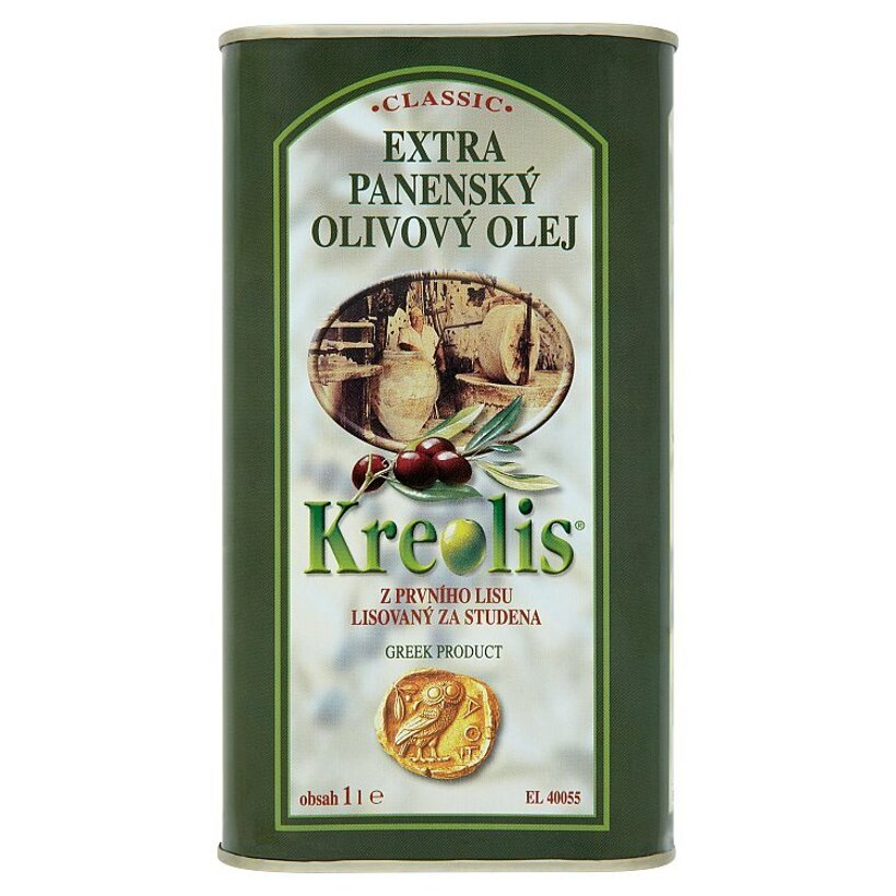 Kreolis Classic extra panenský olivový olej 1 l