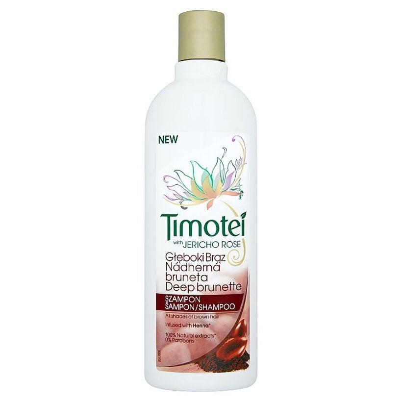 Timotei Nádherná bruneta šampón 400 ml
