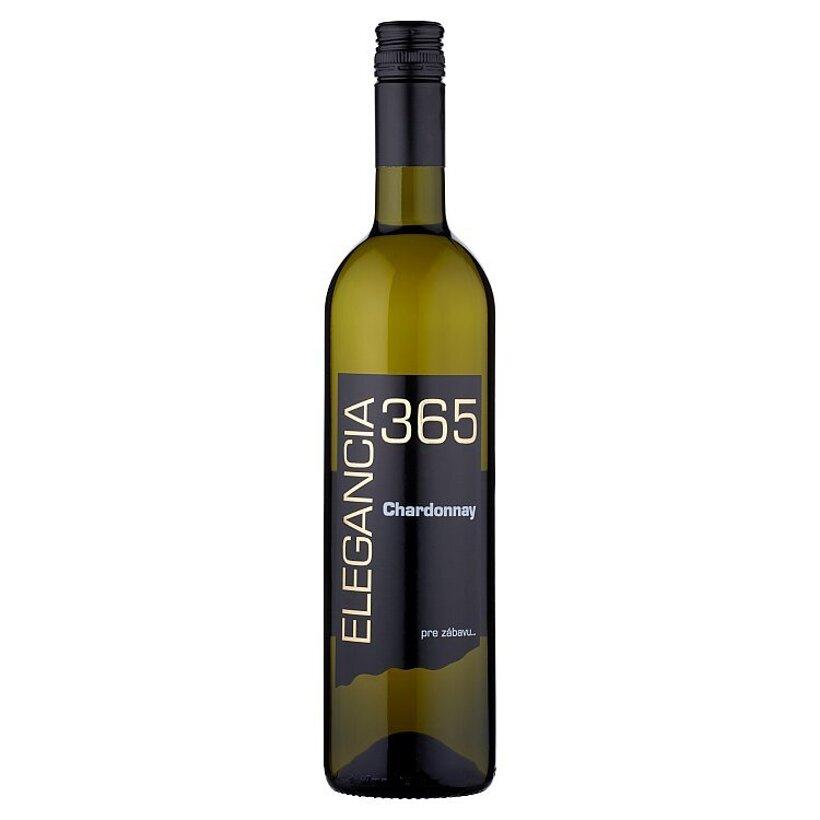 Elegancia 365 Chardonnay víno biele suché 0,75 l