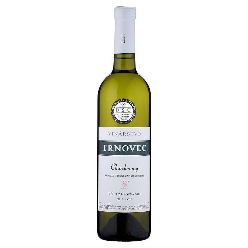 Vinárstvo Trnovec Chardonnay víno biele suché 0,75 l
