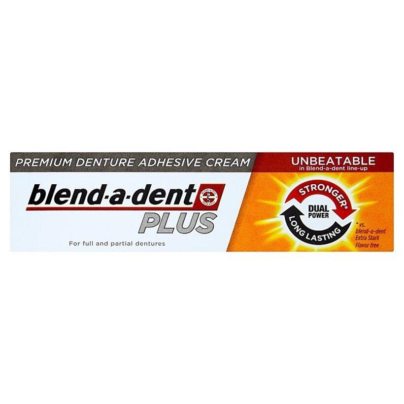Blend-A-Dent Plus prémiový fixačný krém na zubnú náhradu 40 g