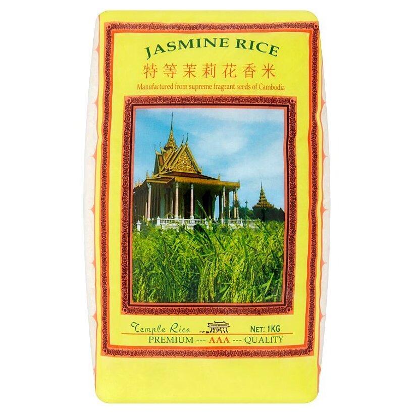 Dlhozrnná lúpaná jazmínová ryža 1 kg