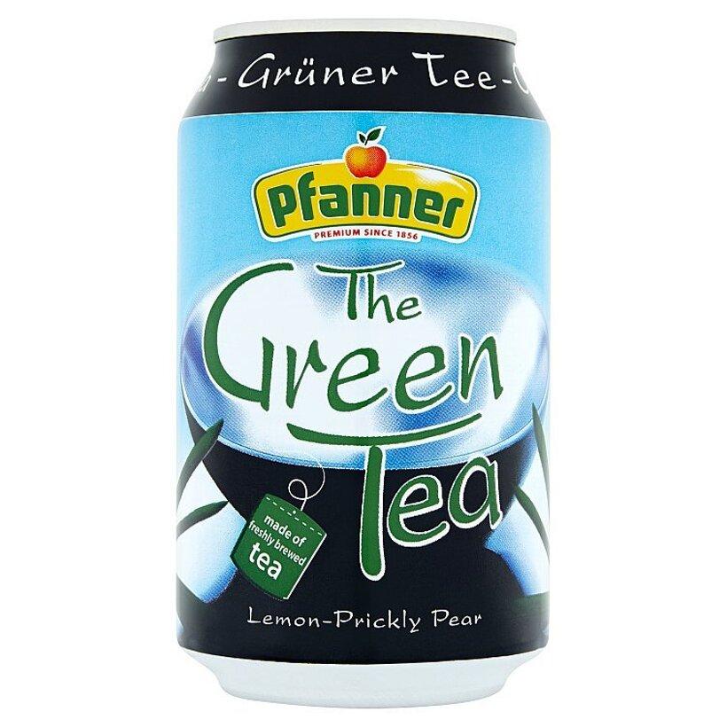 Pfanner Zelený čaj s citrónovo-opuciovou príchuťou 0,33 l