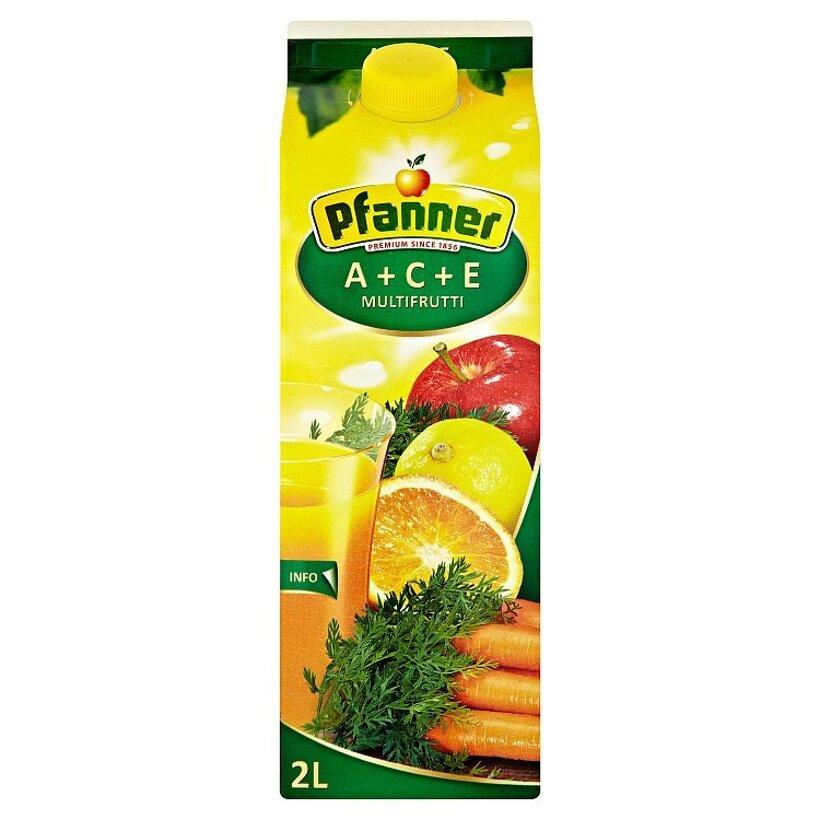 Pfanner ACE viacdruhový ovocný nápoj 2 L