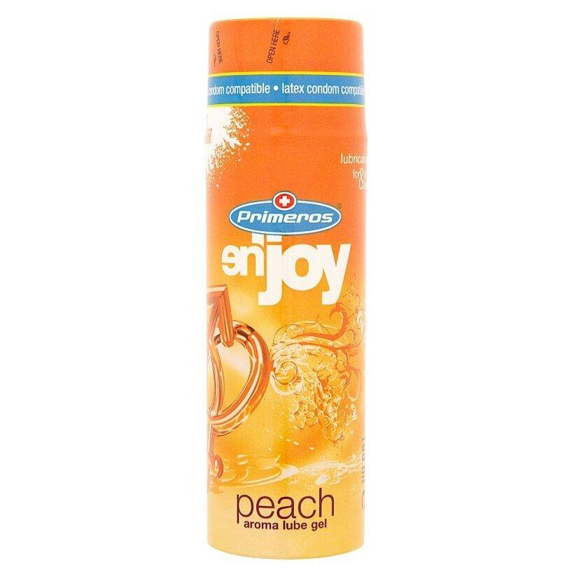 Primeros en'joy peach lubrikačný gél s broskyňovou arómou 100 ml