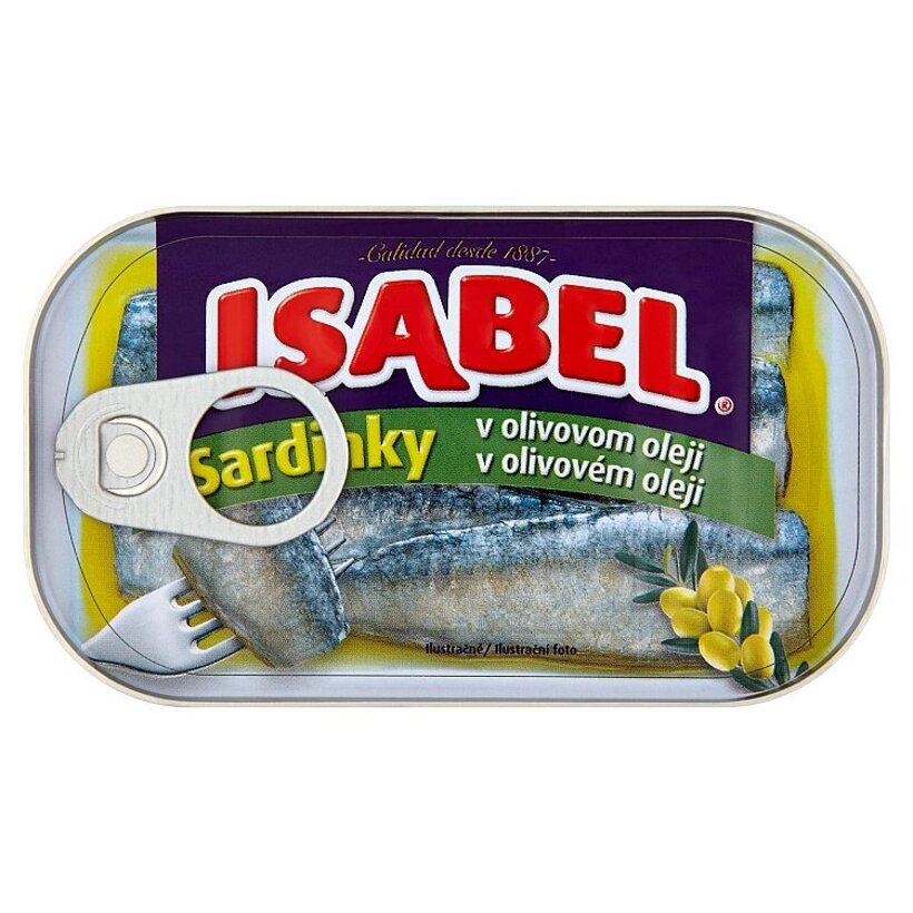 Isabel Sardinky v olivovom oleji 125 g