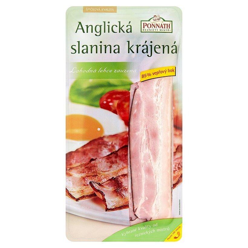Ponnath ŘEZNIČTÍ MISTŘI Anglická slanina krájaná e 100 g