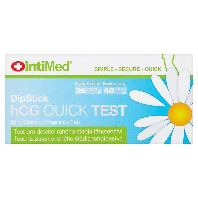 Intimed hCG quick test na zistenie raného štádia tehotenstva
