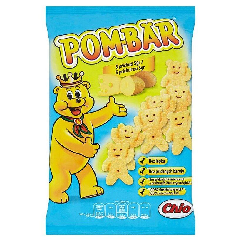Pom-Bär Smažený zemiakový snack s príchuťou syr 50 g