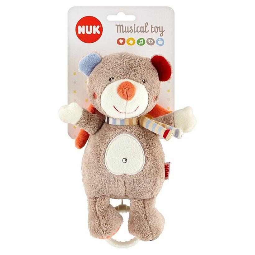 NUK Hudobná hračka medvedík 0 m+