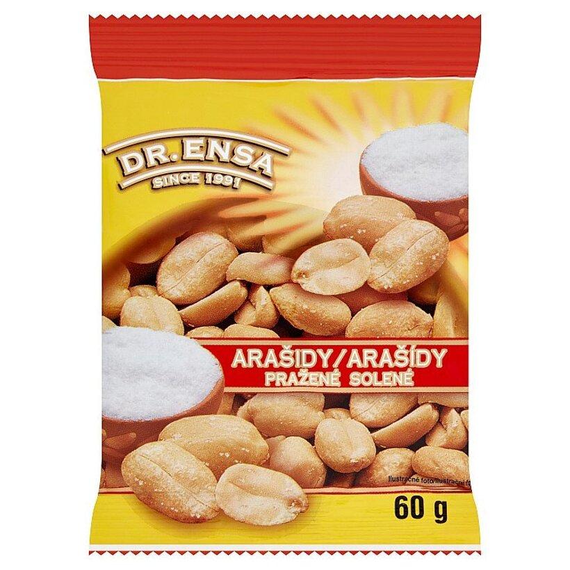 Dr. Ensa Arašidy pražené solené 60 g