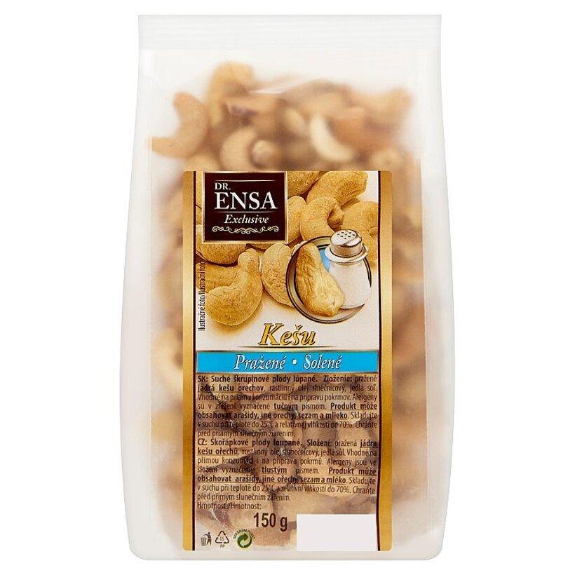 Dr. Ensa Exclusive Kešu pražené solené 150 g