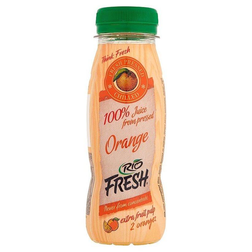 RIO FRESH 100% pomarančová šťava priamo lisovaná za studena 200 ml