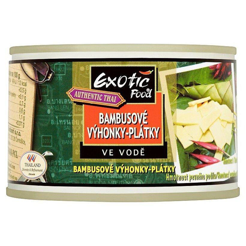 Exotic Food Authentic Thai Bambusové výhonky-plátky 227 g
