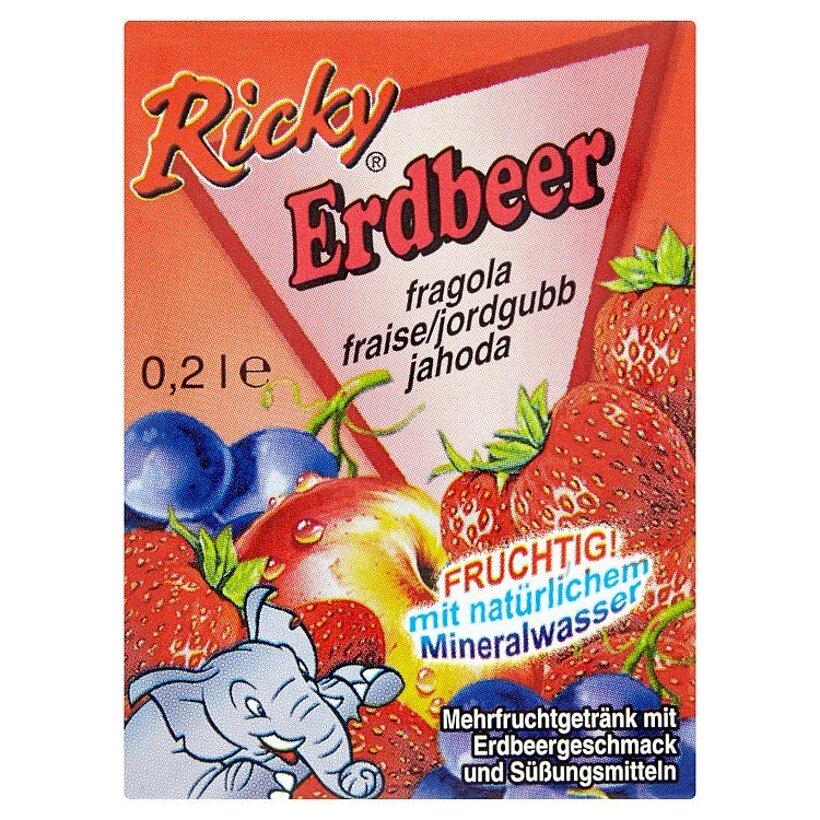 Ricky Jahoda ovocný nápoj 0,2 l