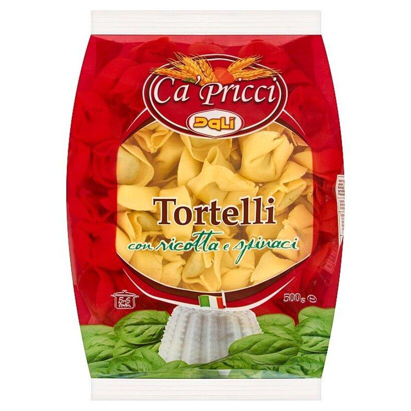 Dali Ca' Pricci Tortelli vaječné rezance plnené syrom ricotta a špenátom 500 g