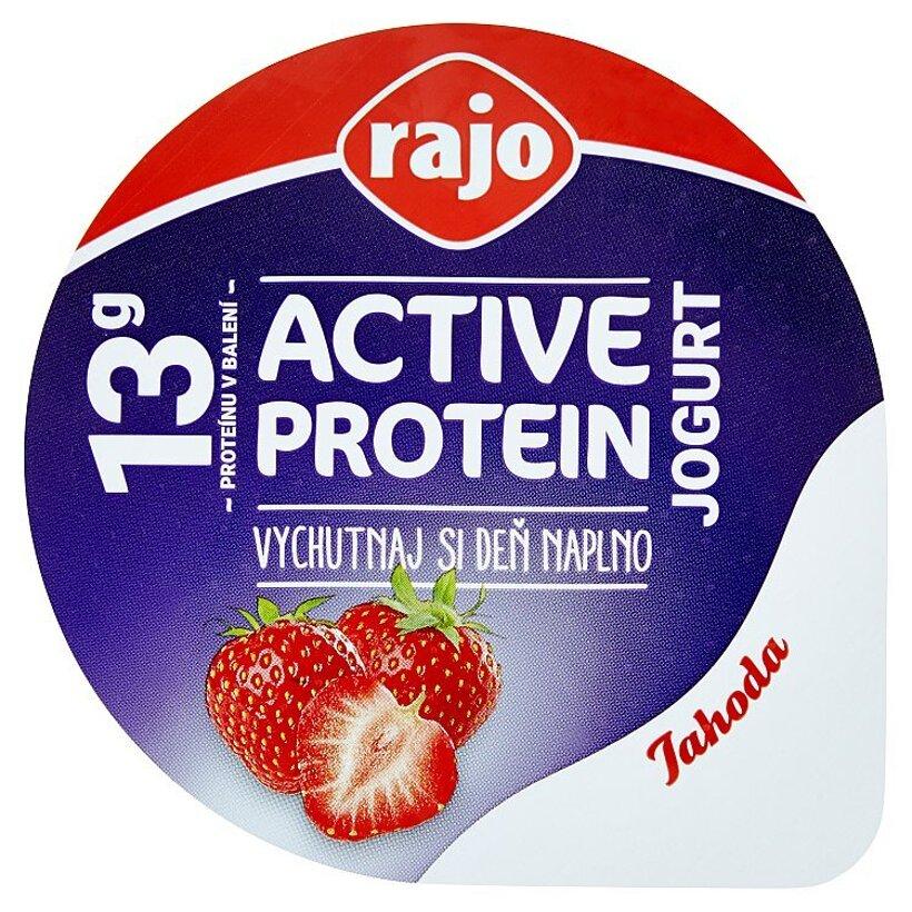 Rajo Active Protein Jogurt jahoda 180 g
