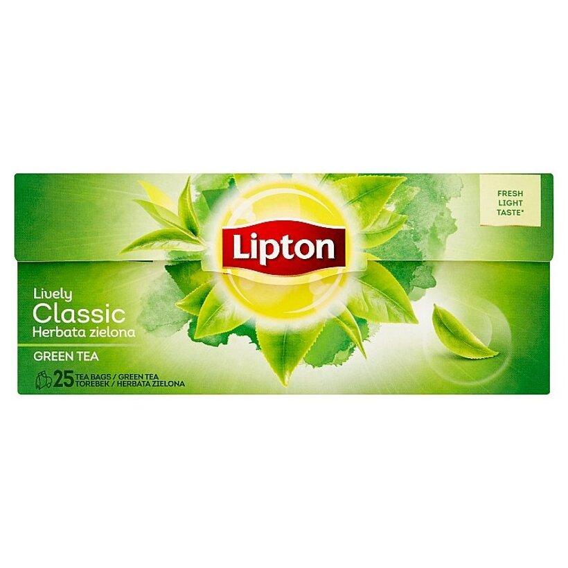 Lipton Classic zelený čaj 25 vrecúšok 32,5 g