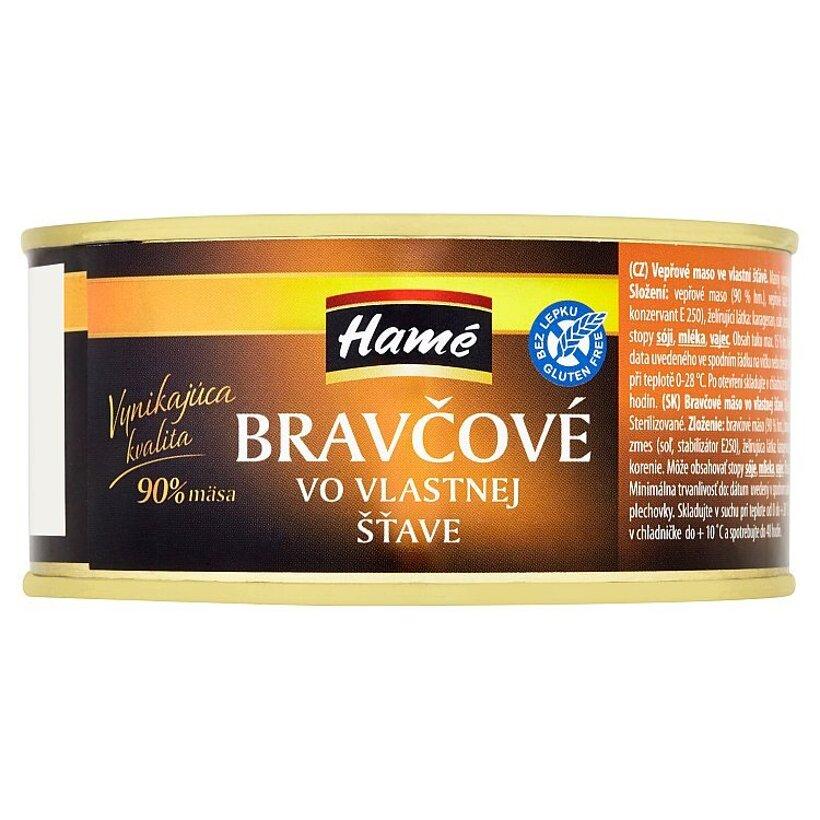 Hamé Bravčové vo vlastnej šťave 290 g