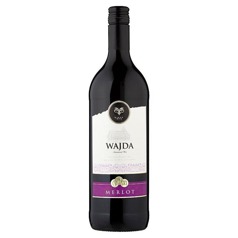 Wajda Merlot víno červené suché 1 l