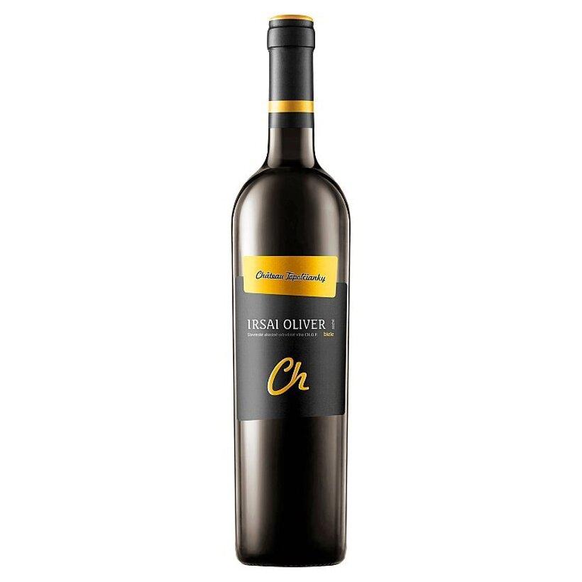 Château Topoľčianky Irsai Oliver slovenské akostné odrodové víno CH.O.P. biele suché 0,75 l
