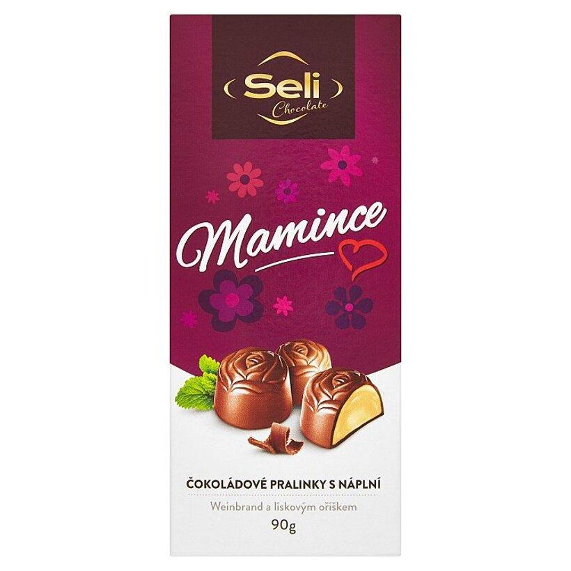 Seli Mamince čokoládové pralinky 90 g