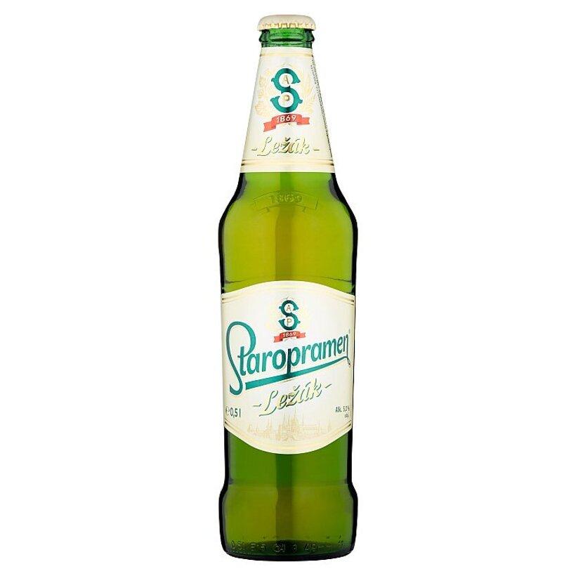 Staropramen Ležák pivo ležiak svetlý 0,5 l
