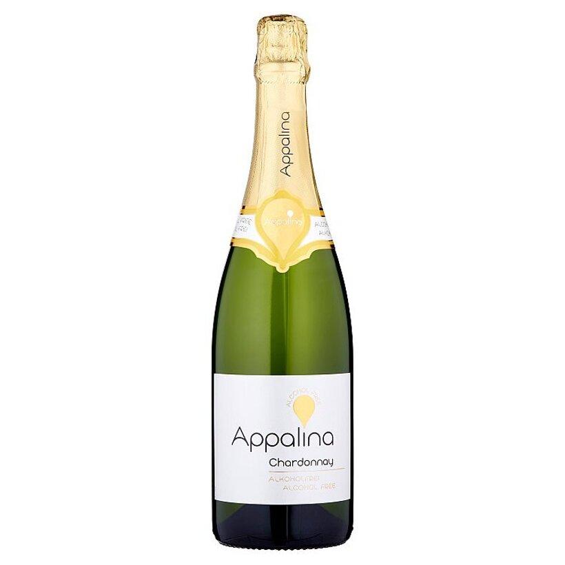 Appalina Chardonnay nealkoholické biele víno, 0,75 l